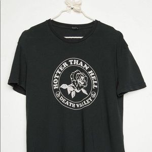 Brandy Melville Hotter Than Hell Graphic Tee